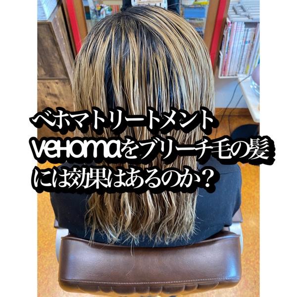 ベホマトリートメントvehomaをブリーチ毛の髪に効果はあるのか?